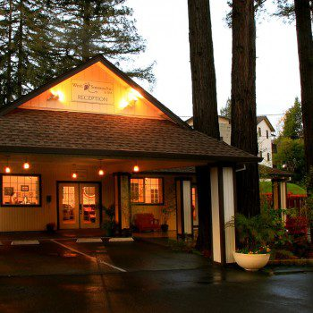 West Sonoma Inn and Spa grounds